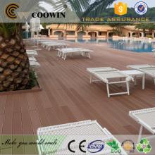 TW-K02 plástico de madera lowes suelo de la cubierta al aire libre impermeable