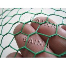 China PVC Coated Hexagonal Wire Mesh Fabricante