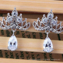 Fashion Imitation Allergy Drops Zircon Earring Jewelry