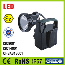 Halogen Bulb Portable Explosion Proof Handlamp
