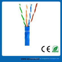 CAT6 UTP / FTP / SFTP cable sólido / cable LAN / cable de red