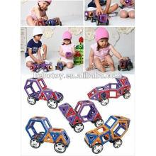 Новые красивые образовательные магнитные строительные игрушки mag-wisdom