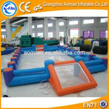 Jeux de sport produits gonflables terrain de volleyball gonflable, champs de volleyball gonflables