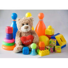 Abastecimiento de juguetes para niños