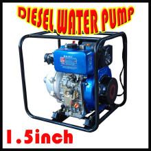 Bomba de agua de 1.5 pulgadas de alta presión / Equipo de agricultura Irrigación Bomba de agua diesel