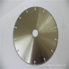 Lames de scie diamantées de haute qualité et de meilleur prix pour la coupe de gemme