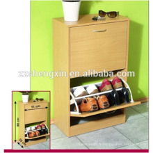 Home Wooden Shoe Cabinet Design, garde-chaussures simples