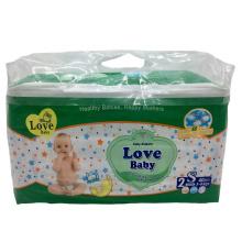 "High quality ""S"" shape magic tape baby diaper"