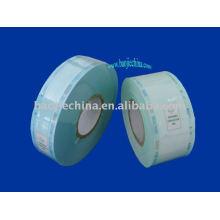 sachets de bobines plats à thermoscellage / sachets de stérilisation
