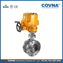 Válvula de mariposa eléctrica anti-explosión para el aire, el aceite, el agua, el gas etc.