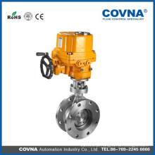 Válvula de borboleta elétrica anti-explosão para o ar, o óleo, a água, o gás etc.