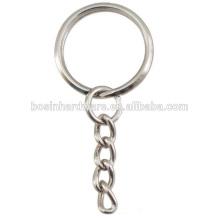 Кольцо хорошего качества металла ключевой цепи хорошего качества разделенное