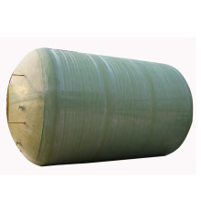 Réservoir en fibre de verre / GRP / composite pour le stockage de l'acide nitrique avec une concentration inférieure à 50%