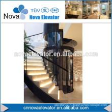 320KGS, 4 человека Круглый панорамный дом Лифт Лифт