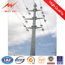 69kv ASTM A123 Safety Factor 1.2 Octogonal Electric Pole
