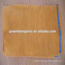 Bolsa de malla de malla de l-costura en china