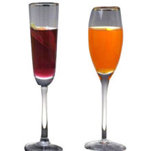 Champagne flutes, customized samples are accepted