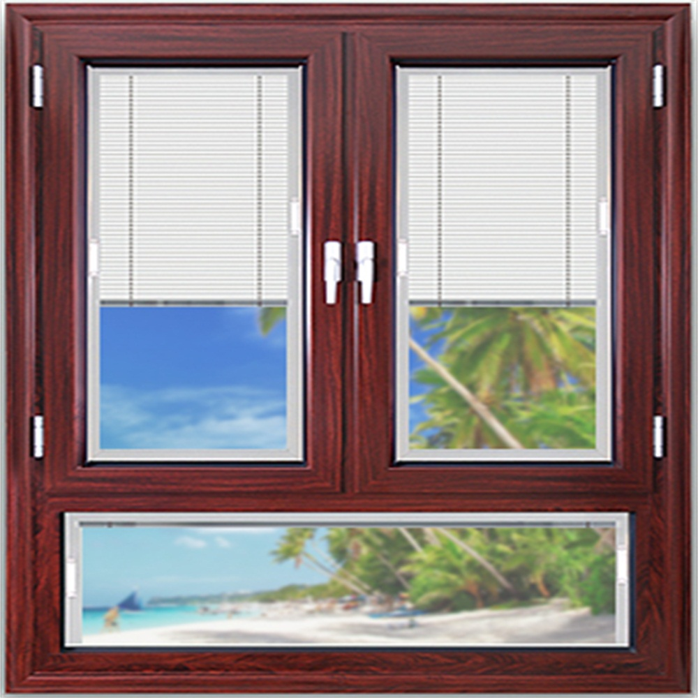 casement window with built in blind 2