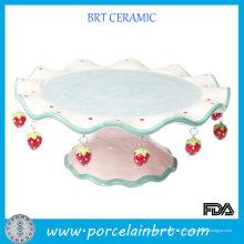 Laciness de fraise couleur Laciness se dresse pour le gâteau