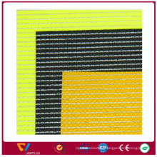Hi vis Wholesale Reflect Yarn Sportsware Fabric/ 1200D Dye Reflective Yarn Safetyware fabric