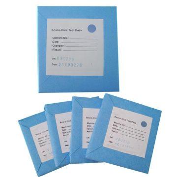 Disposable Bowie Dick BD Test Pack untuk Autoclave