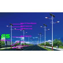 WPSRR-8703 3~15m Municipal Road Hot DIP Galvanized Steet Light Pole style