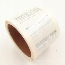 Impermeável cortou a impressão feita sob encomenda da folha de ouro das etiquetas