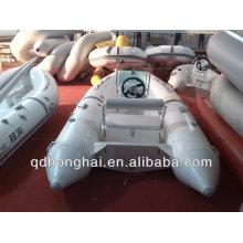 RIB360 china costilla barco inflable del barco con casco rígido