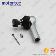 Peças de suspensão de qualidade tie rod end para Toyota 45046-09281, 24 meses de garantia