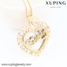Jóias 32684-Xuping moda charme banhado a ouro pingente