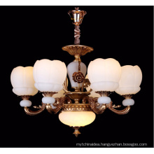 Modern zinc alloy candle crystal chandelier light for hotel project home decoration