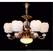 Современная цинковый сплав свеча хрустальная люстра свет для проекта украшения дома отель