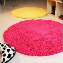 tapis de prière rond moderne pour enfants dans le salon