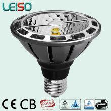 Tamaño halógeno y rendimiento LED PAR30 con base E27