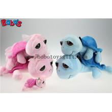 Moda design brinquedo de pelúcia casal tartaruga com big Eyesbos1172-1173
