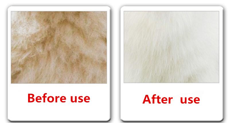 bright fur