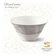 personalized High Grade China Porcelain rice bowl with spoon