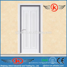 JK-MW9004B white modern bedroom doors/melamine wooden doors