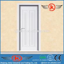 JK-MW9004B portas de quarto modernas brancas / portas de madeira de melamina