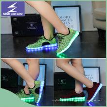 Высокое качество Олимпийские игры обувь светодиодный с красочными изменения