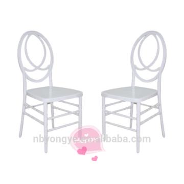 Белое свадебное кресло феникс