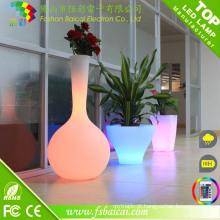Novo vaso de flores LED elegante com 16 cores