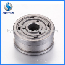 Piston base valve sinter part for adjustable shock absorber