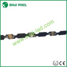 La nueva llegada llevó la tira 3535 SMD impermeable IP68 sk6812 tira llevada flexible 60LEDs / m