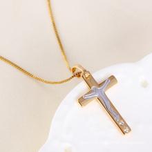 Handmade Diamond 18k Yellow Gold Jesus Pendant