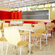 (SP-CS286) Modern Design China Fast Food Restoranda Masa Ve Sandalye Furniture Sets