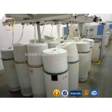 Tops de fibra de cashmere Tops de fibra de lã