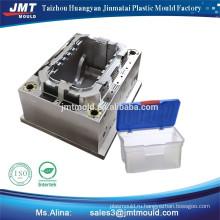 Бытовые изделия пластиковые инъекций пластик оборот ящик плесень фабрика Цена