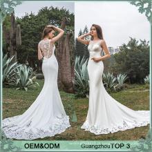 Vestido de noiva de pérolas pesadas rendas hemline vestido de noiva sexy noiva vestidos de noiva branco design de bainha
