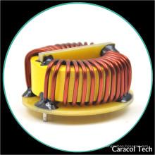 Inductance de bobine de cuivre de starter toroïdal de courant élevé avec la base pour la carte de circuit
